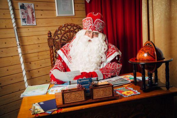 Южная резиденция Деда Мороза на горе Ахун в Сочи.